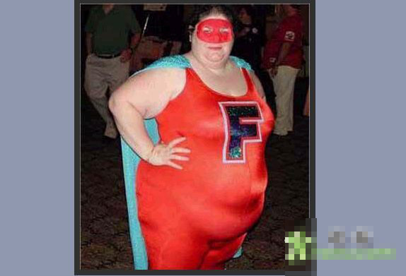 忘记了减肥的超人